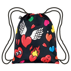 LOQI pop collection backpack in hearts