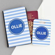 Childrens Personalised Passport Wallet