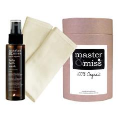 Organic baby bath gift set
