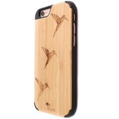 Origami bamboo iPhone 6/6S case
