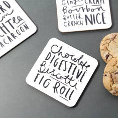 Biscuit coaster set