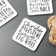 Biscuit coaster set