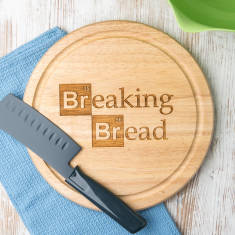Breaking Bad-inspired bread chopping board