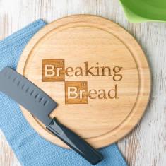 Breaking Bad-inspired bread chopping board