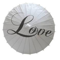 Wedding Paper Parasol
