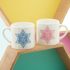 Personalised little star kids' mug