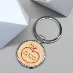 Personalised Best Teacher Keyring