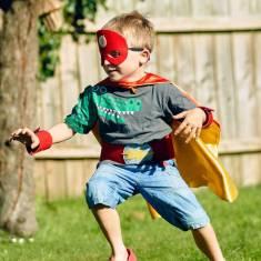 Personalised superhero dress up kit