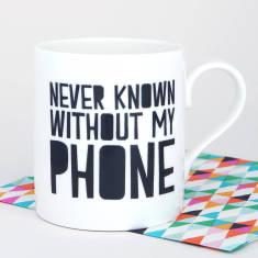 Phone lover's mug