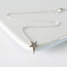 Silver my star necklace
