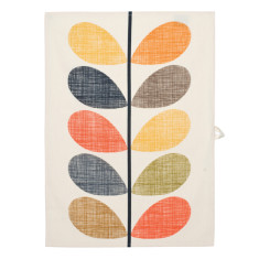 Orla Kiely multi stem tea towel