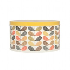 Orla Kiely multi stem large round cake tin