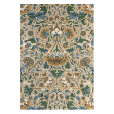 William Morris Lodden Rug in Manilla