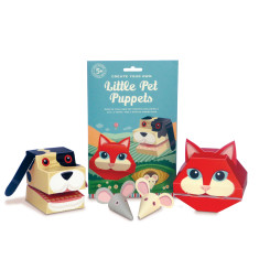 Create Your Own Little Pet Puppets Kit