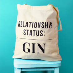 Relationship Status Gin Tote Bag