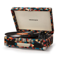 Crosley Cruiser II Portable Turntable With Battery - Triangle