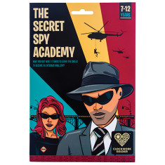 The Secret Spy Academy Activity Kit