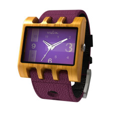 Lenzo Watch in Orchid