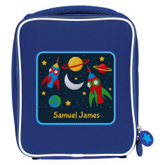 Personalised space adventure lunch bag