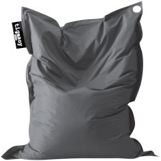 XL indoor/outdoor beanbag in charcoal (grey)