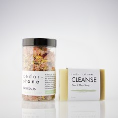 Citrus Bath Salts + Cleanse Bar Pack