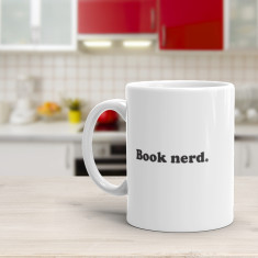 Book Nerd - Funny Coffee Mug