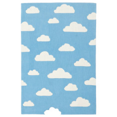 Clouds Blue Rug