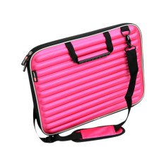 Laptop case in hot pink