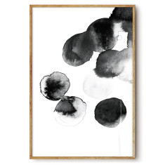 Black Ink 1 - wall art print