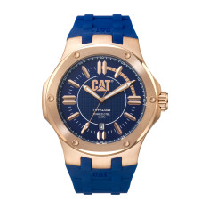 Navigo series watch in Rose Gold and blue plus free gift