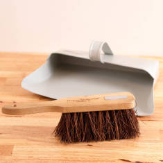 Personalised English Heritage Dustpan And Brush Set
