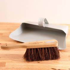 Personalised English Heritage Dustpan And Brush Set