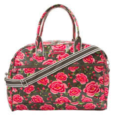 Overnight bag in Alexandra donkey print