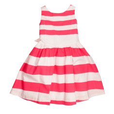 Striped Dress Pink