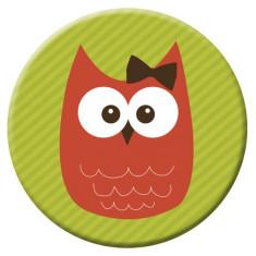 Owl pocket mirror