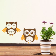 Owls Wall Decal