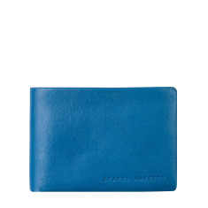 Jonah leather wallet in blue