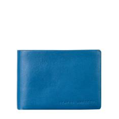 Jonah leather wallet in blue