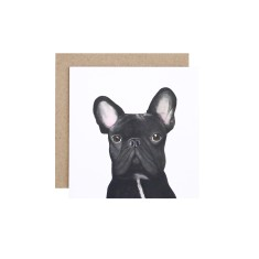 French bulldog greeting card (pack of 5)