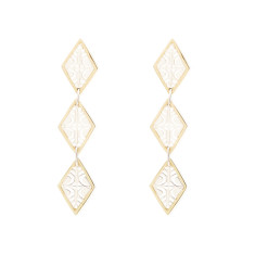 Reflection Triple Drop Earring