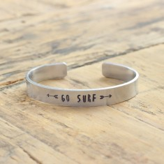 Go surf bracelet (various metal colours)