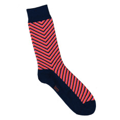 Loco navy arrow socks