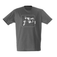 Triumph bike men's t-shirt
