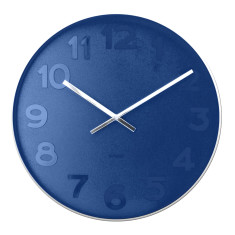 Karlsson Mr Blue Numbers Wall Clock (S or XL)
