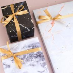 Marble Gift Wrap Set