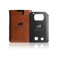 The Original BroCard Slim Wallet & Tool Card
