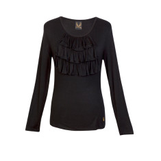 Claire top in black