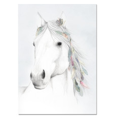 Wild and Free - Horse Print Unframed