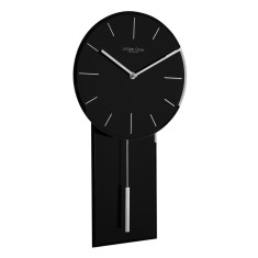 Glass Pendulum Wall Clock by London Clock Company (Multiple colours available)