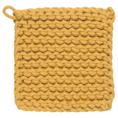 Parker crochet potholder honey